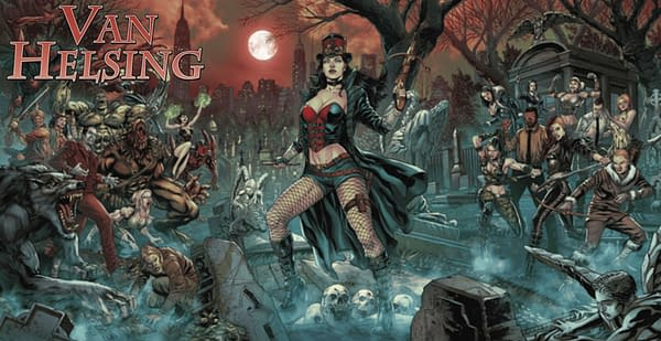 Van Helsing #50 Leads November 2020 Solicitations. Credit: Zenescope