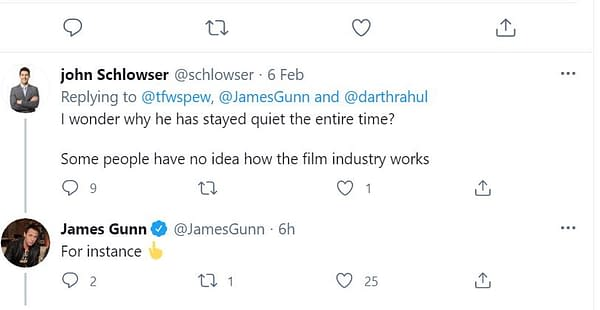 Gunnsplaining Marvel Movie direction To James Gunn