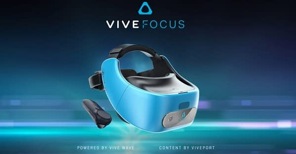 HTC Announces Standalone VR Headset The Vive Focus