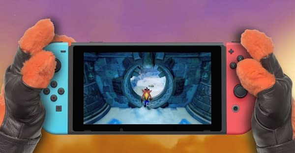 Crash Bandicoot N. Sane Trilogy Receives a Switch Trailer