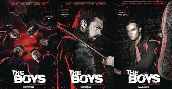 Dynamite Give The Boys Omnibuses Photo Covers