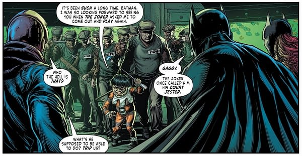 Every Appearance Of Gaggy, As Seen In Three Jokers