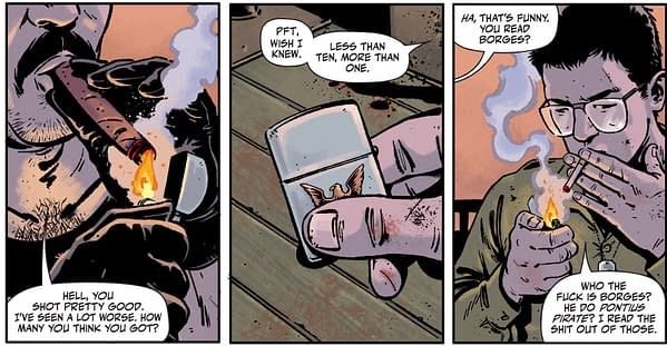 Rorschach Republican Candidate Turney First Appeared In Watchmen #2