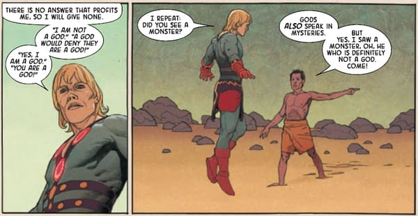 Today, The Eternals Do Monty Python (Spoilers)