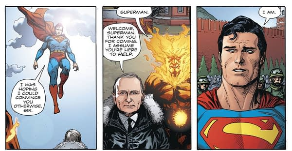 Why Did DC Have to Clear Putin's Appearance Anyway?