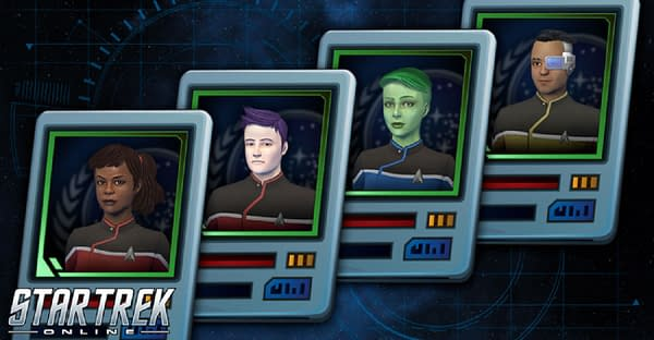 Now you too can utilize all four of the Star Trek: Lower Decks officers, courtesy of Perfect World Entertainment.
