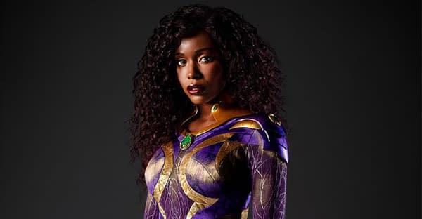 Titans season 3 star Anna Diop as Starfire ((mage: HBO Max)