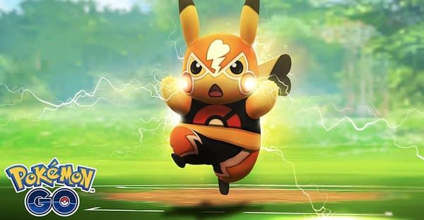 Pikachu Libre in Pokémon GO. Credit: Niantic