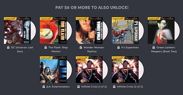 DC Audio Comics Featured in Latest Humble Bundle