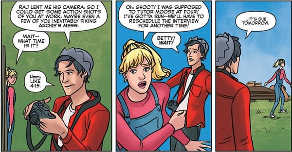No Respect for Deadlines in This Week's Betty & Veronica #2