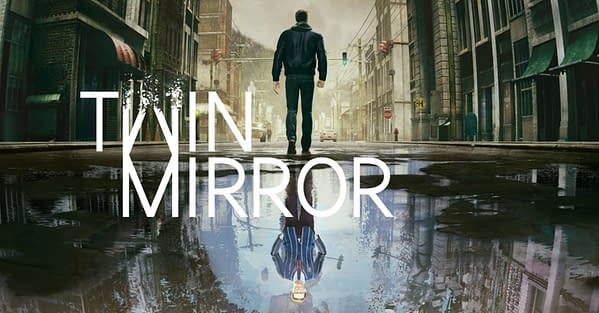 What will you uncover about yourself and this town in Twin Mirror? Courtesy of Bandai Namco.