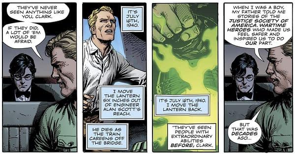 Alan Scott, Green Lantern, as a Gay Man in the 1940s