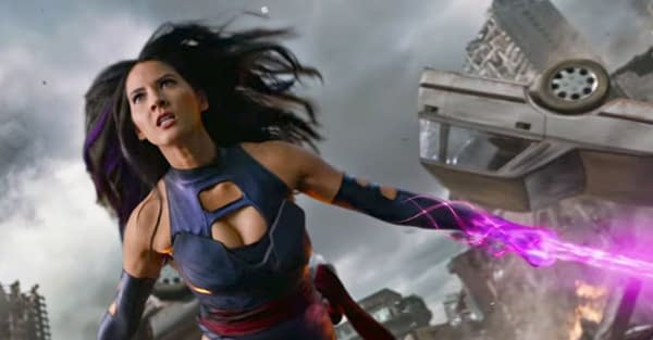 X-Men: Olivia Munn Felt Nostalgic in Psylocke Sword Video
