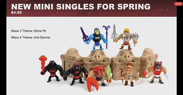 Masters of the Universe Power Con 2020 Mattel Reveals - Eternia Minis