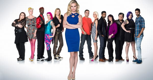 A look at the first season of Skin Wars (Image: GSN)