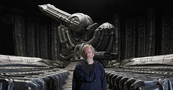 Sir Ridley Scott Waxes Poetic About H.R. Giger, AMC's The Terror, and Thelma & Louise