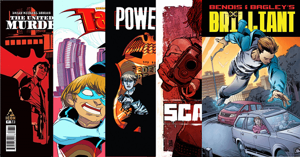 Brian Michael Bendis's Powers, Brilliant, The United States Of Murder Inc, Takio, Scarlet, Etc, Pulled From Kindle And ComiXology