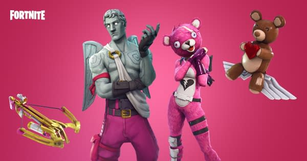 Epic Games Reveal New Fortnite Updates for Valentine's Day