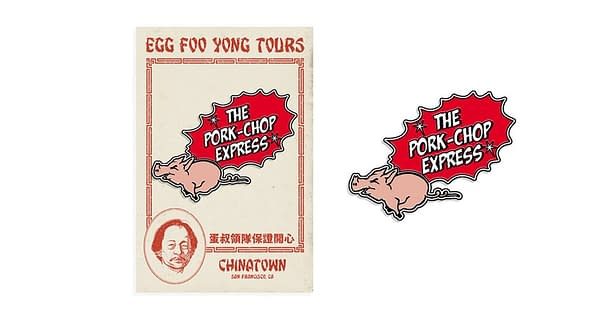 Mondo Big Trouble Pork Chop Express Pin
