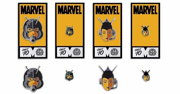 Mondo Marvel Studios 10 Anniversary Ant man and Wasp Pins
