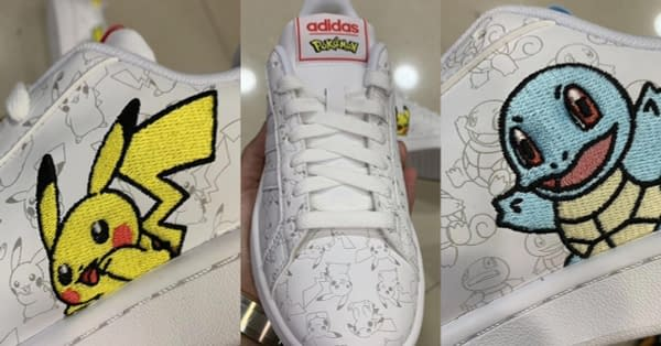 The New Adidas Pokémon Sneakers Appear Online
