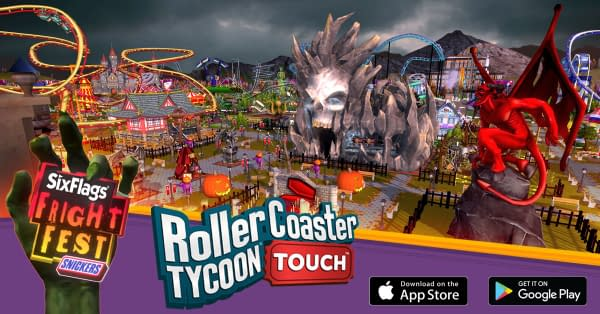"""""""RollerCoaster Tycoon Touch"""" Receives A Fright Fest Update"""
