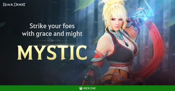 "Mystic Class Is Being Added To ""Black Desert"" On Xbox One"