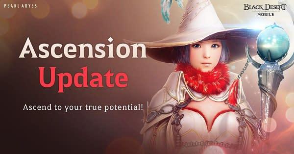 """Black Desert Mobile"" Receives The Ascension Update"