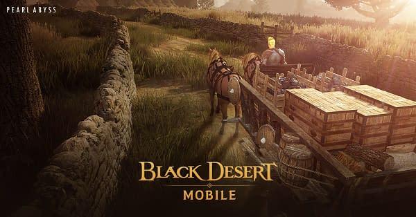 Black Desert Mobile Merchantry