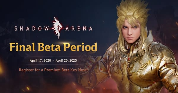 The final beta for Shadow Arena will kick off on April 17th, courtesy of Pearl Abyss.