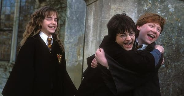 Harry Potter still. Credit Warner Bros.