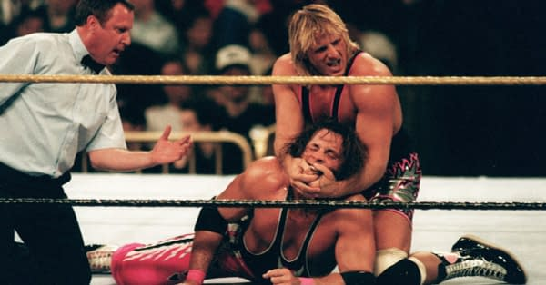Owen Hart versus Bret Hart, courtesy of WWE.