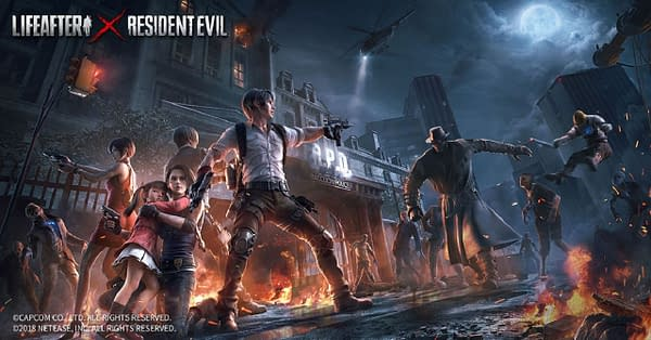 Defend the city against Umbrella Corp. in this special LifeAfter x Resident Evil event, courtesy of NetEase Games.