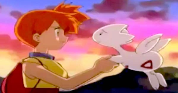 Togetic and Misty. Credit: Pokémon the Series