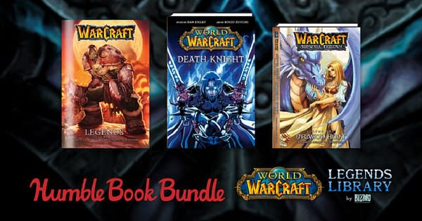 A sample of what you can get in the World Of Warcraft's Legends Library, courtesy of Humble Bundle.