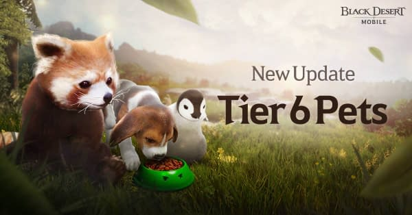 Now you can take your pets to a new tier in Black Desert Mobile and make them even more cuddly yet ferocious. Courtesy of Pearl Abyss.