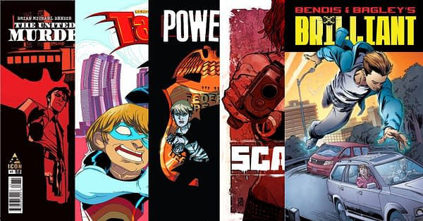 Brian Bendis' Creator Owned Comics Pulled Off ComiXology/Kindle Again