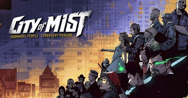 A header showcasing some of the art of City of Mist, a game by Son of Oak.