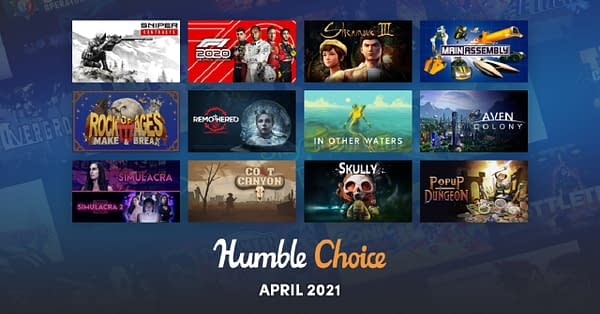 A look at all twelve games that will be available for this month's Humble Bundle.