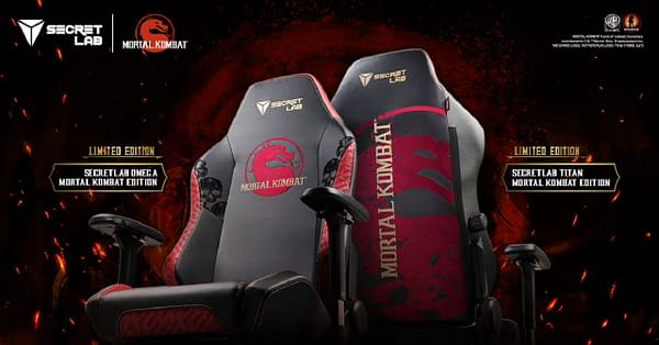 You can get the chair in both of the company's current product lines, courtesy of Secretlab.