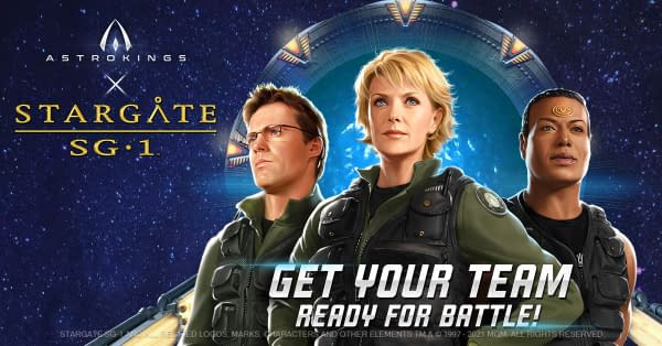 Stargate SG-1 Will Be Making Another Crossover Into AstroKings