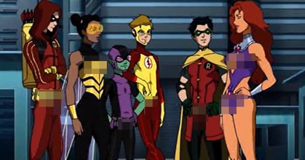 Teen Titans: The Nudist Contract