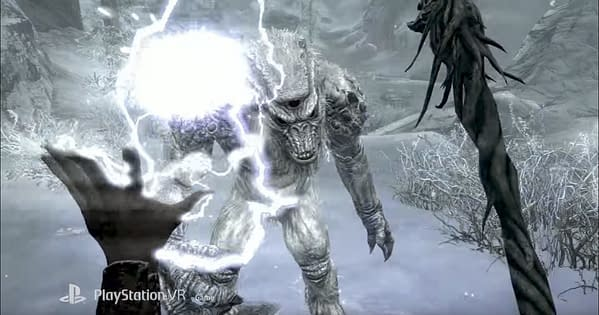 Skyrim VR is Coming to Steam VR in April for Both the Rift and Vive