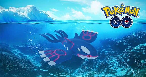 Legendary Pokemon Kyogre is Now Available in Pokémon Go