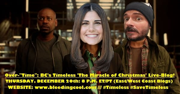 timeless christmas live blog
