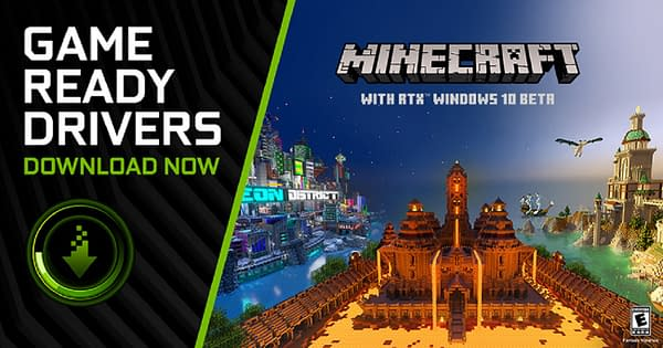 Now you can see Minecraft in a while new light.