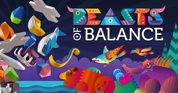A header for Modern Games' relaunch of Beasts of Balance.