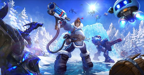 Mei brings the chill to Heroes Of The Storm, courtesy of Blizzard.