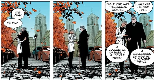 To Bruce Wayne and Selina Kyle, a Baby Girl, in Catwoman 80th
