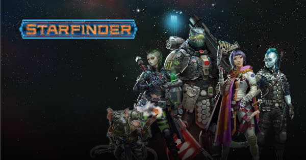 Which way will you go in the new Starfinder episodes on Amazon? Courtesy of Paizo.